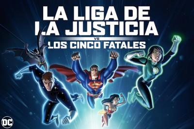La Liga de la Justicia vs. Los Cinco Fatales