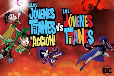 ¡Los Jóvenes Titanes en Acción! vs. Jóvenes Titanes