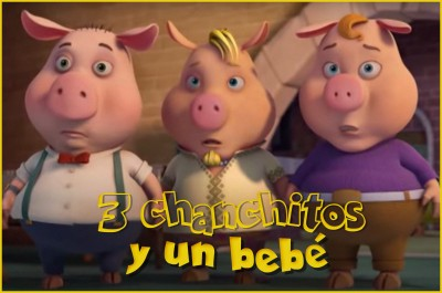 Tres chanchitos y un bebé